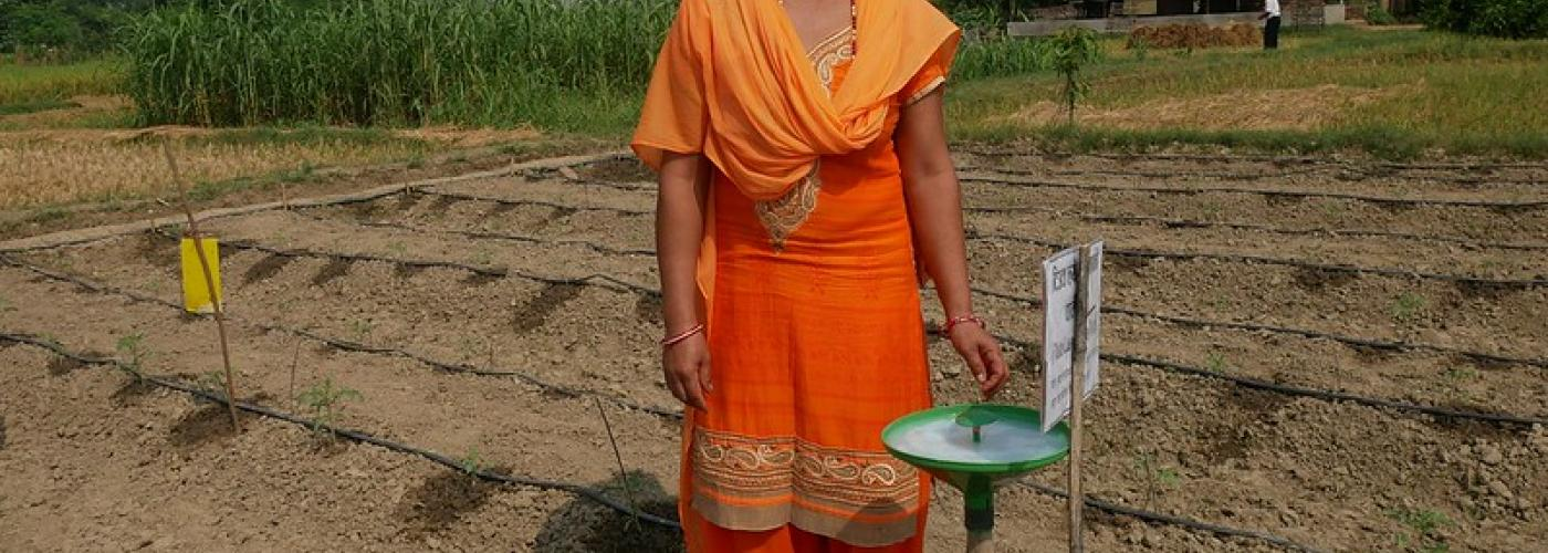 Photo: Smallholder in Nepal gain access to improved technology
