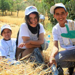 Young Moroccan environmentalists