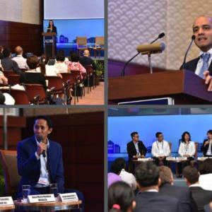 "Photo description: Panelists during the deep dive workshop on ""Enabling Private Sector Clean Energy Investment in Southeast and South Asia."" held in June 2017."