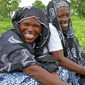 Photo of two African women. Photo: MEDA