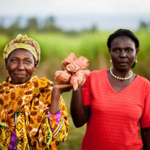 Photo: Kenyan Women Grow Nutritious Crops Photo Credit: Fintrac Inc