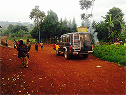 Roads less traveled in South Kivu, DR Congo